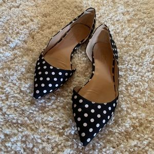 Journee collection Polka dot flats